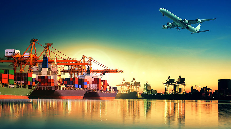 Airplane_Marinas_Ships_Evening_Container