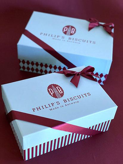 Cadeauboxen Philip's Biscuits