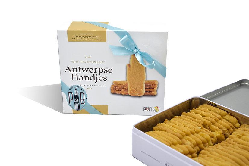 Blik Antwerpse handjes
