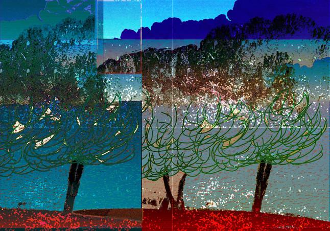 "Pine Skyline ""By the Sea"""