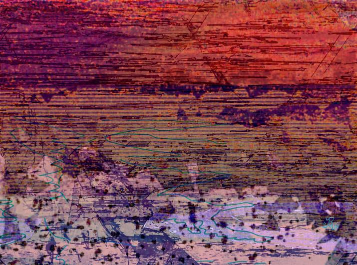 "Seascape Sunset ""Calm"""
