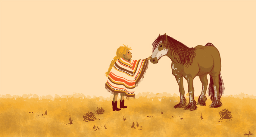 Horse and Blanket