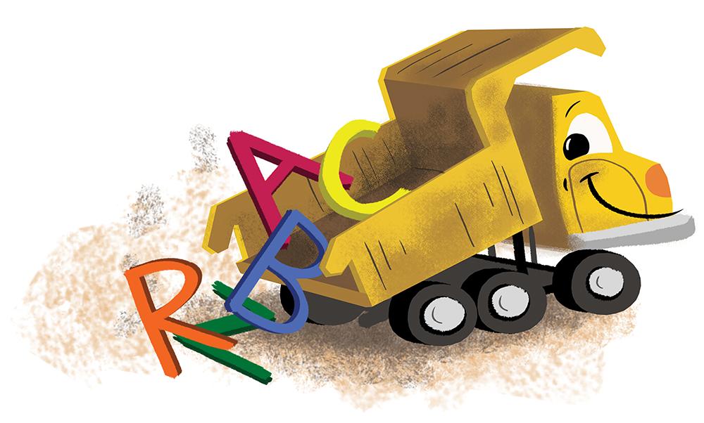 Letter Truck