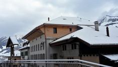 Façade en tavillon, Villars-sous-Mont
