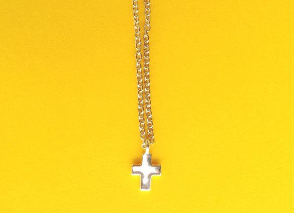 pendente prata cruz