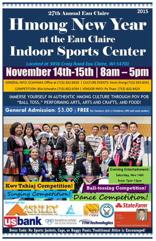 New Location for 2015 Annual Hmong New Year Celebration