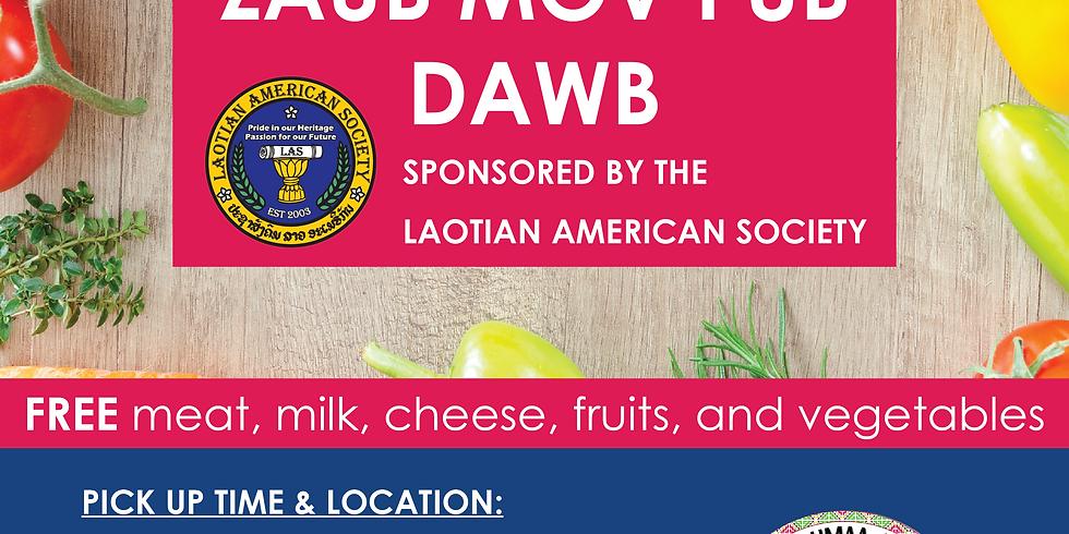 Free Foodbox; Zaub Mov Pub Dawb