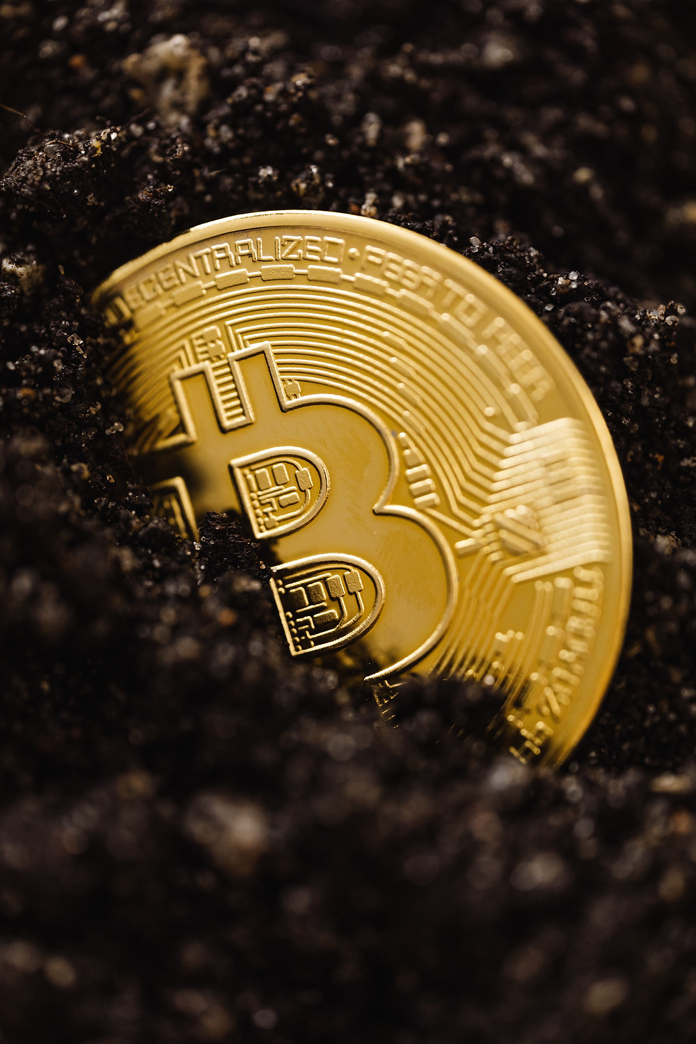 A real bitcoin. ON WYT product photography now accepts bitcoin as a form of payment.