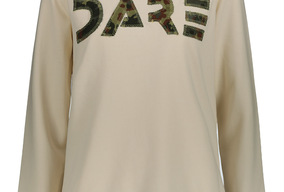 Dare Sweatshirt with Patch