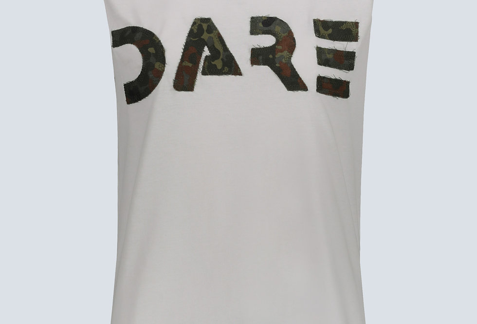 T-Shirt Dare Oversize con Patch