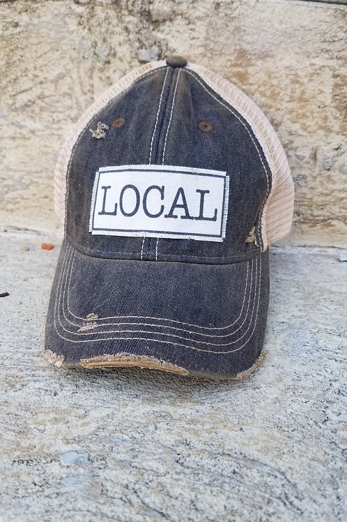 Local rustic hat
