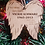 Thumbnail: Your wings were ready but my heart was not memorial ornament personalized