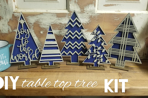 Table top tree set DIY kit