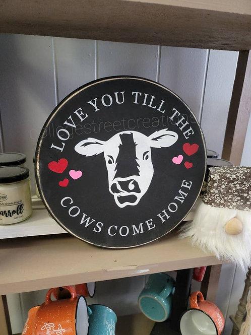 Love you till the cows come home *Single Use Stencil* // Stencil