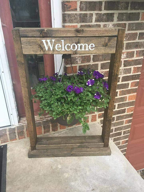 Personalized plant stand holder