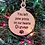 Thumbnail: Pet memorial ornament laser cut and engraved-personalized