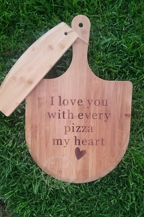 Custom Pizza Paddle