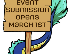 Event Submission Begins March 1st!