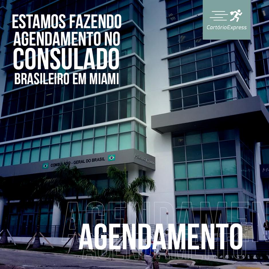 Consulado do Brasil em Miami anuncia retorno gradual do atendimento dia 1° de junho