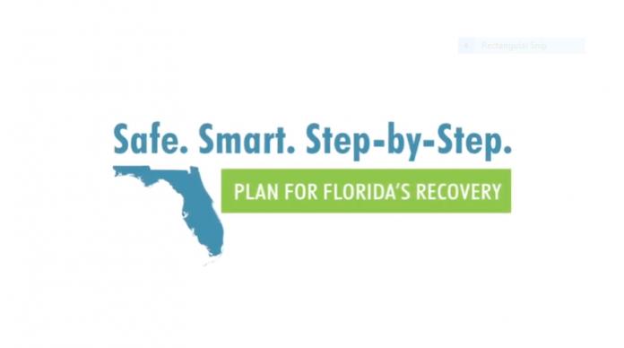 Sul da Flórida está fora do plano de reabertura do Estado nesta primeira fase