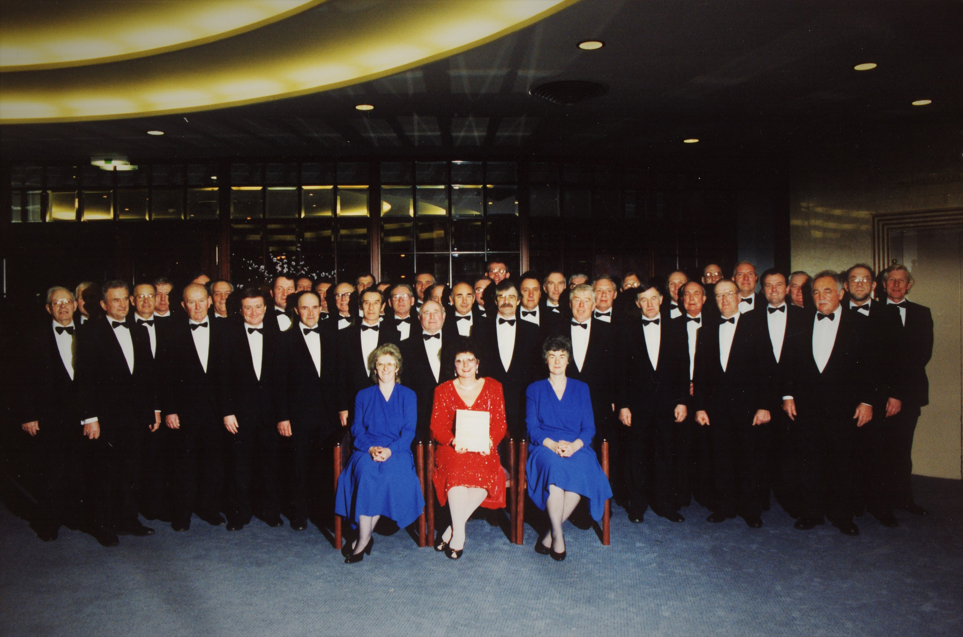 Choir photo from Vienna 1991