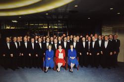 Choir photo from Vienna 1991