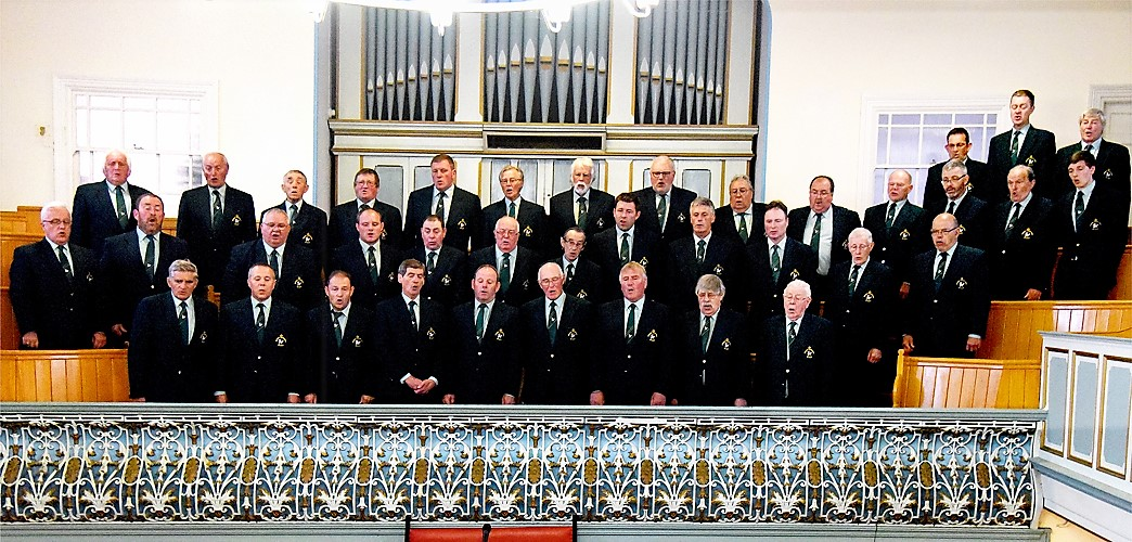 Choir at Hermon Chapel, Fishguard