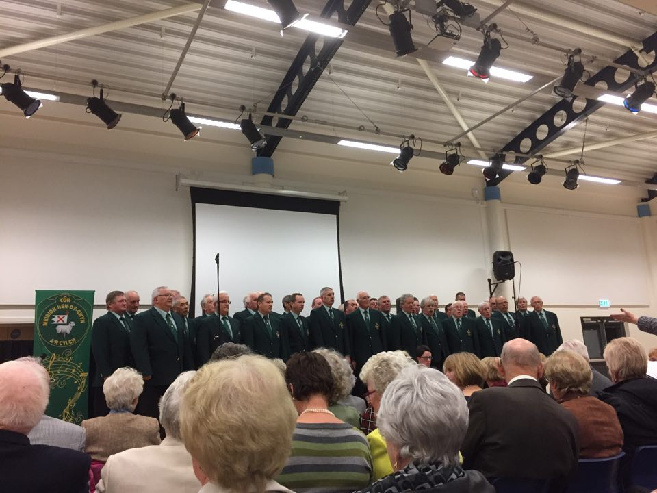 Whitland Choir in Concert atIsle of Man.