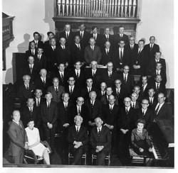 Choir at Haverfordwest Eisteddfod
