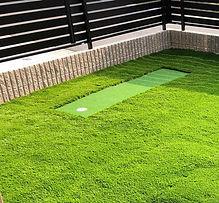 ゴルフ/パターゴルフ人工芝施工例