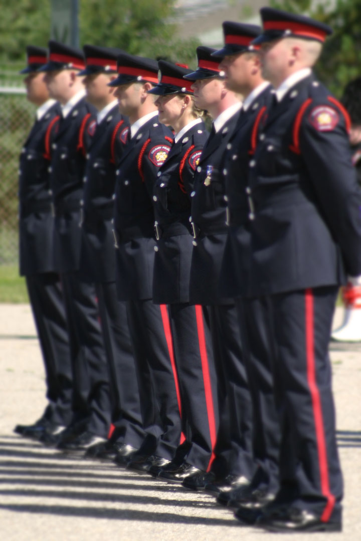 Calgary police graduation