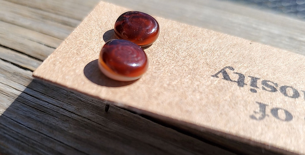 Unphotographable Brown Studs (BR6)