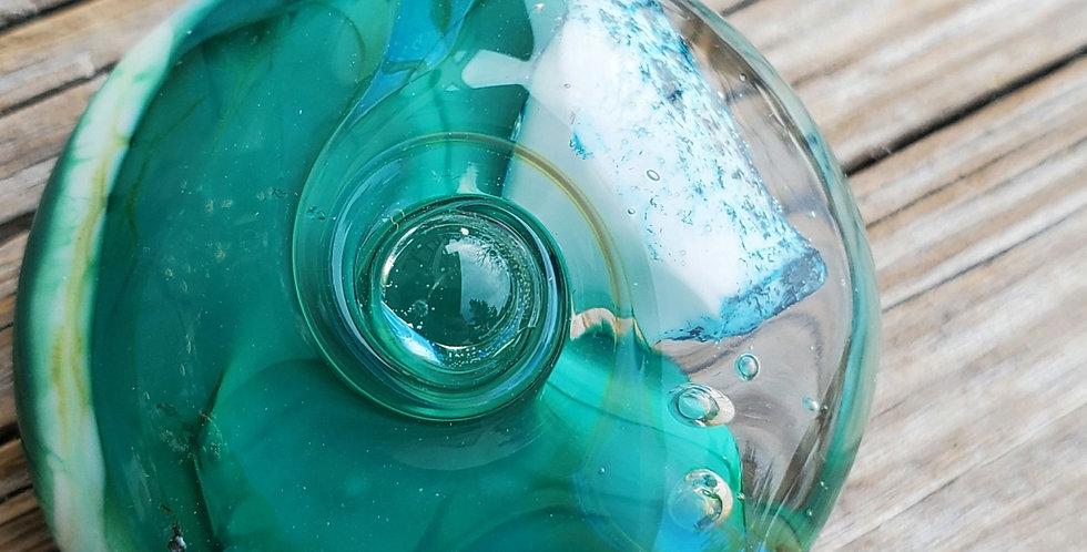 Sea Emerald Bead