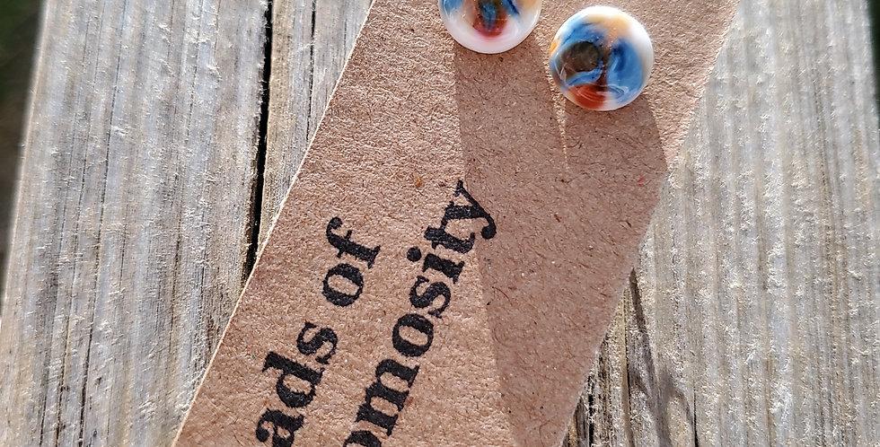 Beach Confetti Studs (M8)