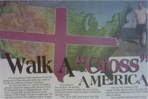 Walk a CROSS, America!!!