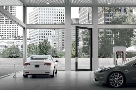 Oikos Nova: la porta blindata che permette di creare ingressi completamente vetrati.