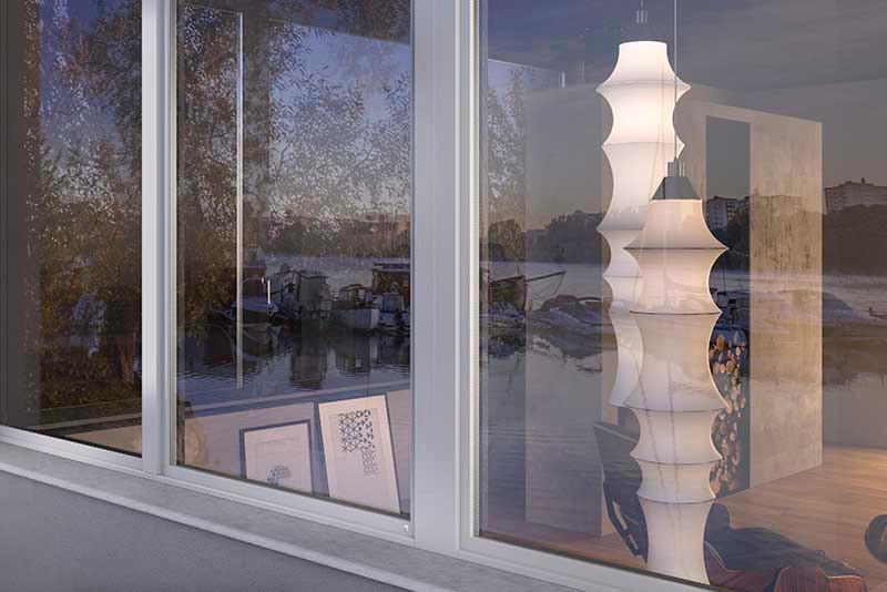 Finestra in legno-alluminio Sciuker Stratek
