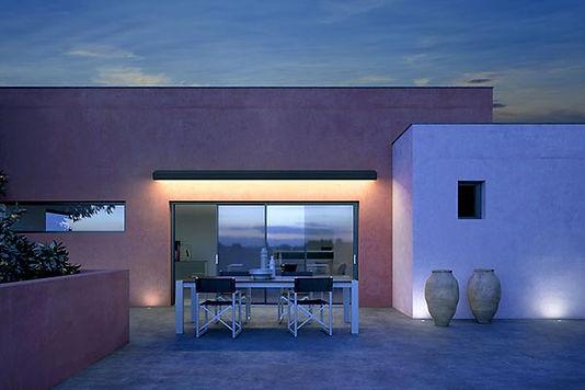 Illuminazione LED per tende