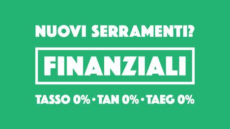 Nuovi serramenti? Finanziali a TASSO ZERO grazie alla nuova promozione!