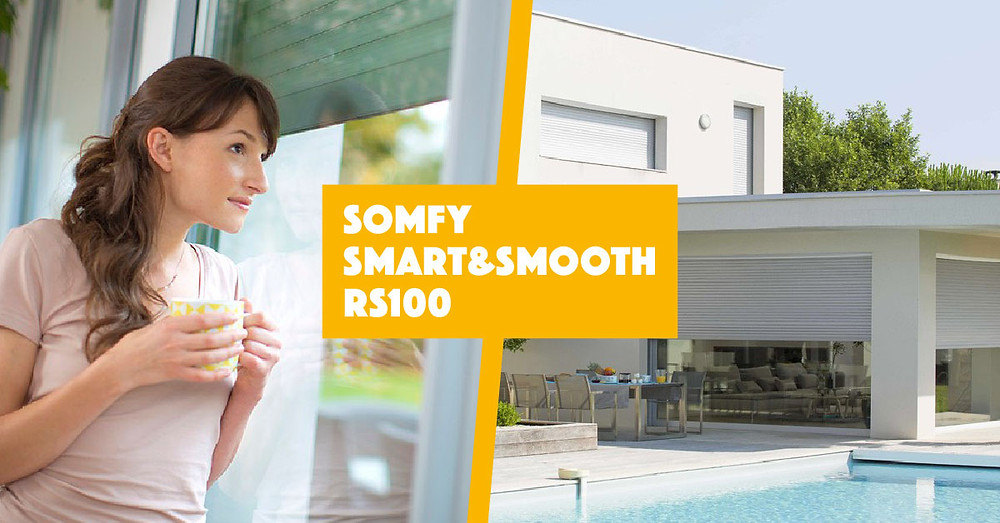 Somfy Smart&Smooth RS100