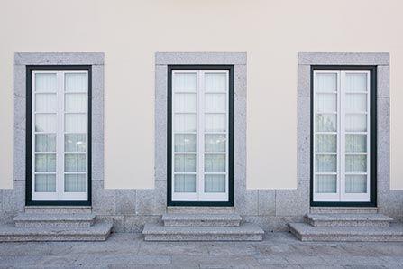 Porta-finestra in PVC Finstral
