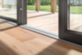 Porta-finestra in alluminio Finstral