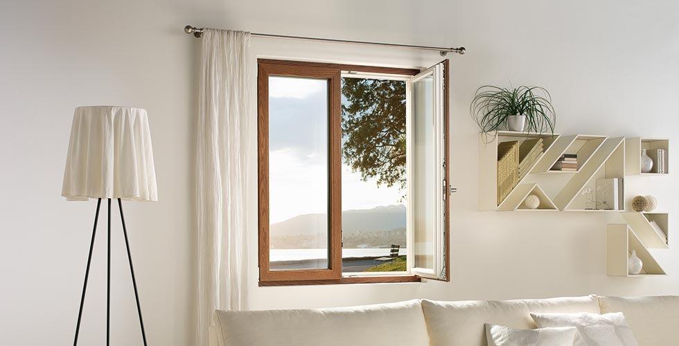 Porta finestra in PVC Finstral