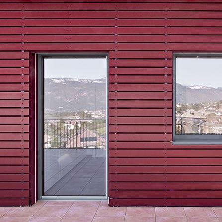 Porta finestra in legno-PVC-alluminio Finstral
