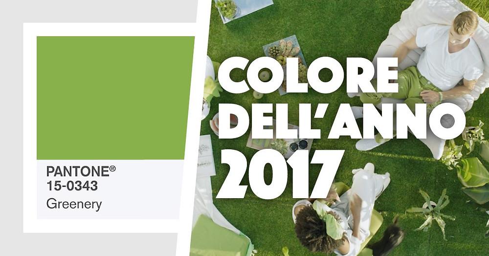 Greenery: colore dell'anno 2017