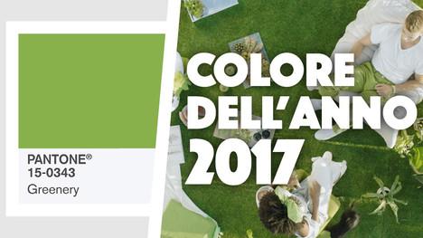 Pantone annuncia il colore dell'anno 2017: ecco Greenery!