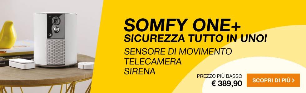 Telecamera di sicurezza Somfy One+