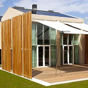 Finestre in legno - Residenza Bio_Casa 82 a Treviso