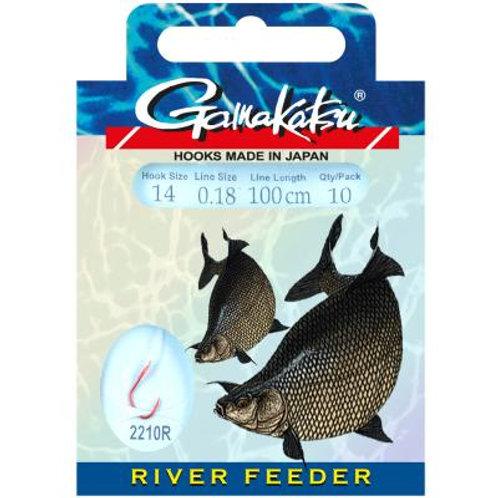 Gamakatsu Hook  RIVER FEEDER 2210R 100cm Gr.8