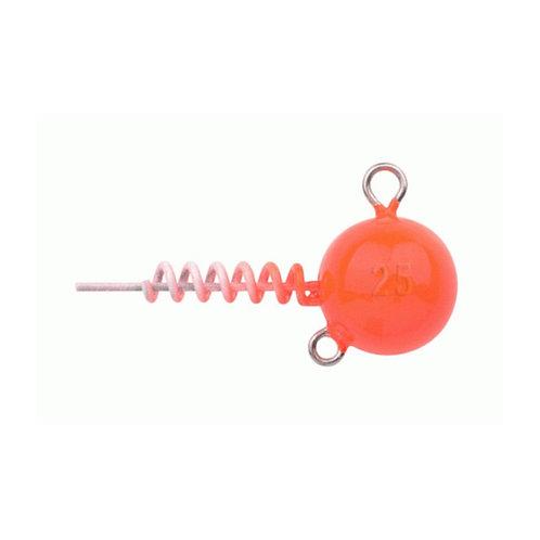 Spro SOFTBAIT Spiral Head Schraubjigkopf UV Orange
